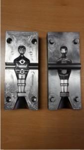 Stahlkokille für Aluminiumgussteile